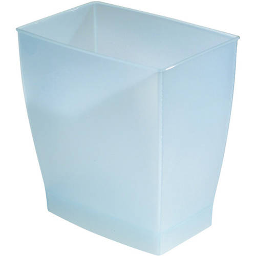 InterDesign Spa Mono Rectangle Wastebasket Trash Can by INTERDESIGN