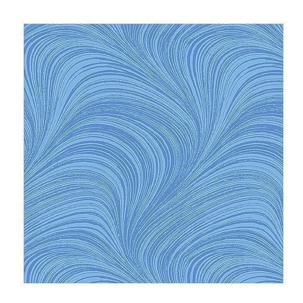 Blue Wave, Blue Hydrangea - Cotton Fabric from Benartex