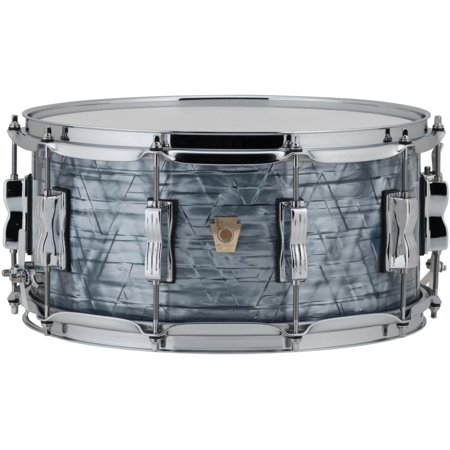 Ludwig Classic Maple Snare Drum 14 x 6.5 in. Sky Blue Pearl - Ludwig Classic Drum