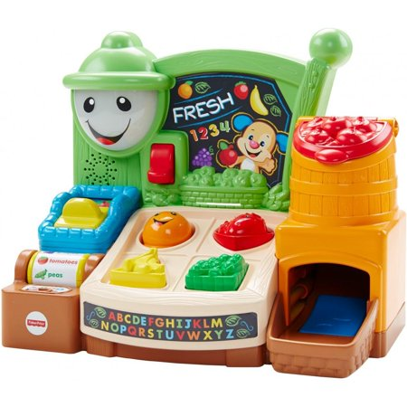 fisher price laugh & learn magic scan market - YouTube