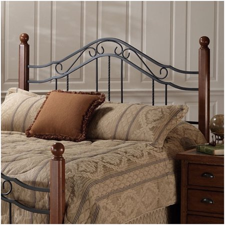 Hillsdale Madison Spindle Headboard in Antique Black