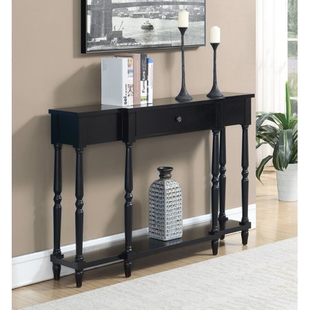Convenience Concepts Wyoming Black Console Table