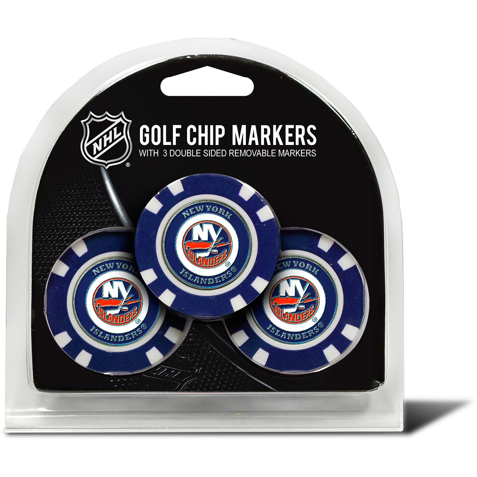 New York Islanders 3 Pack Golf Chip