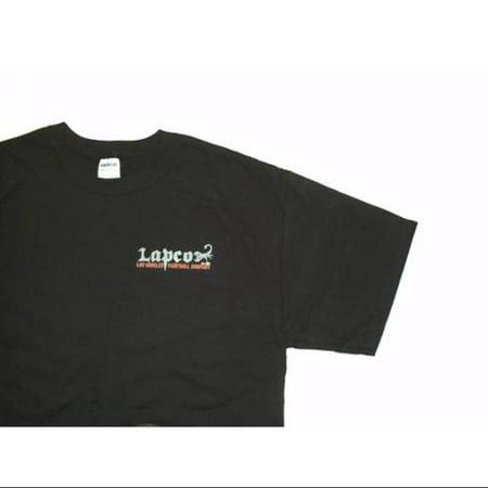 Lapco Paintball Logo T-Shirt - Black