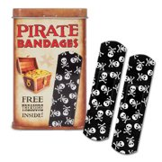 Pirate Adhesive Bandages (25 Pack) by Accoutrements - 11319