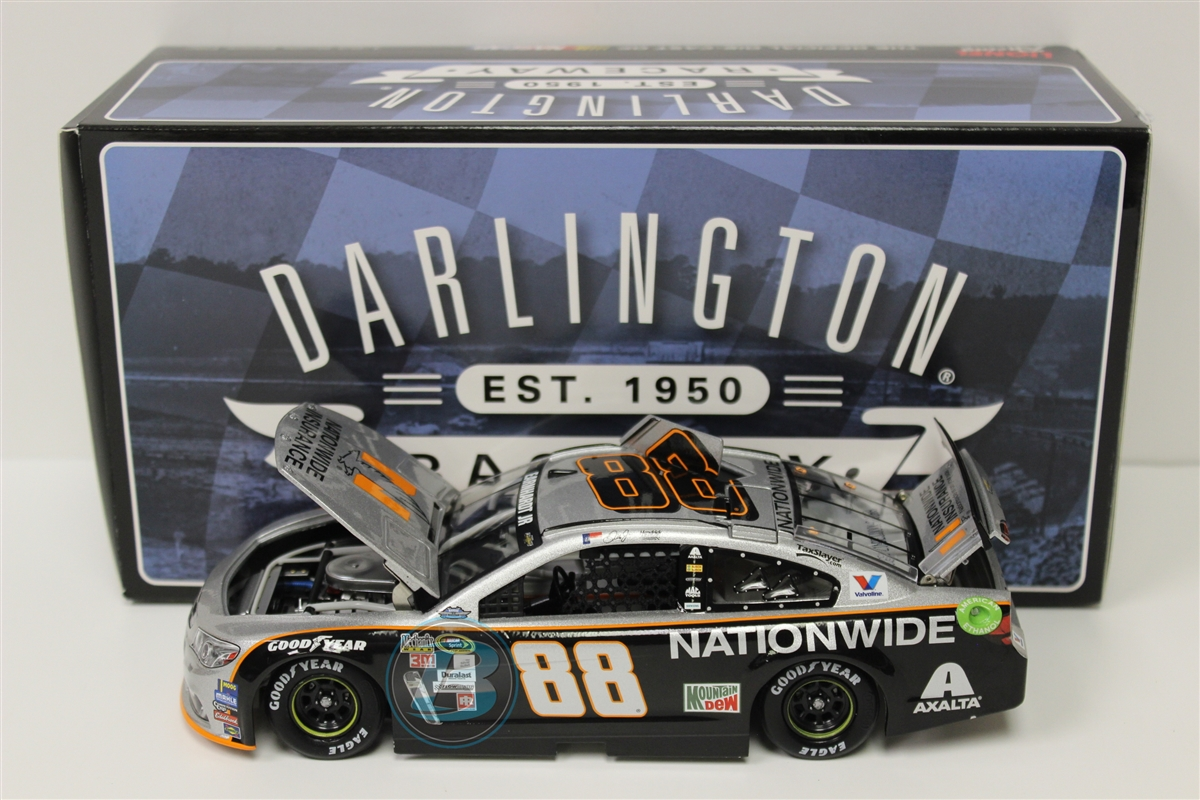 Dale Earnhardt, Jr. #88 Nationwide Darlington 2016 Chevrolet SS Nascar Diecast Car, 1:24 Scale ARC HOTO produced by... by Generic