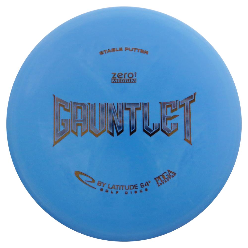 Latitude 64 Zero Medium Gauntlet 173-176g Putter Golf Disc [Colors may vary] - 173-176g