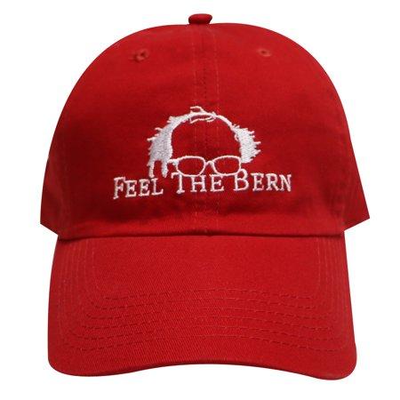 C104 Bernie Feel The Bern Cotton Baseball Caps Red - Walmart.com 8129c71688f