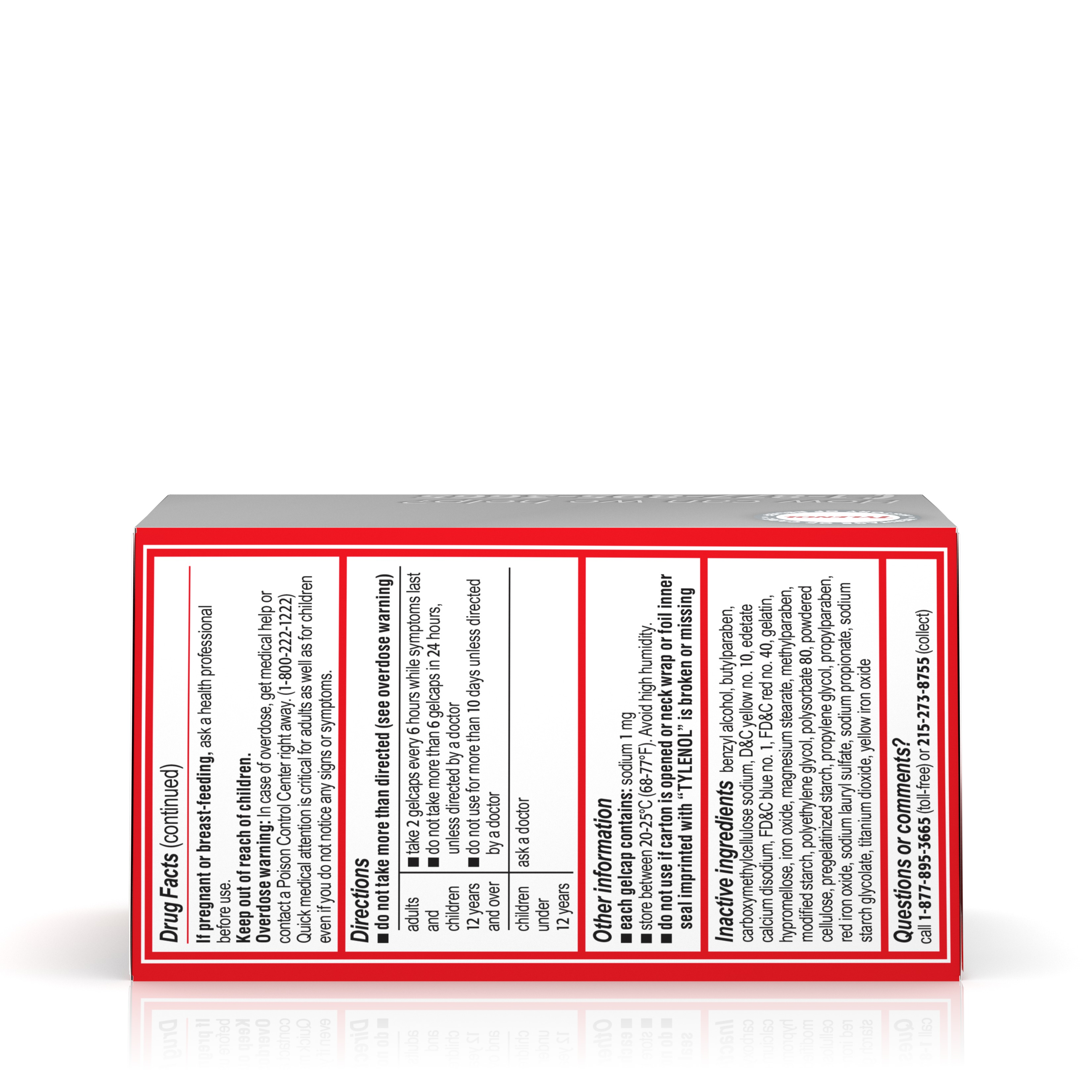 Tylenol rapid release gels fever reducer and pain reliever 500 tylenol rapid release gels fever reducer and pain reliever 500 mg 100 ct walmart nvjuhfo Images