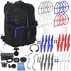 EVERYTHING YOU NEED ACCESSORY BUNDLE FOR DJI PHANTOM 4 – Includes + Backpack Pro IV for All DJI Phantom Quadcopters + MORE