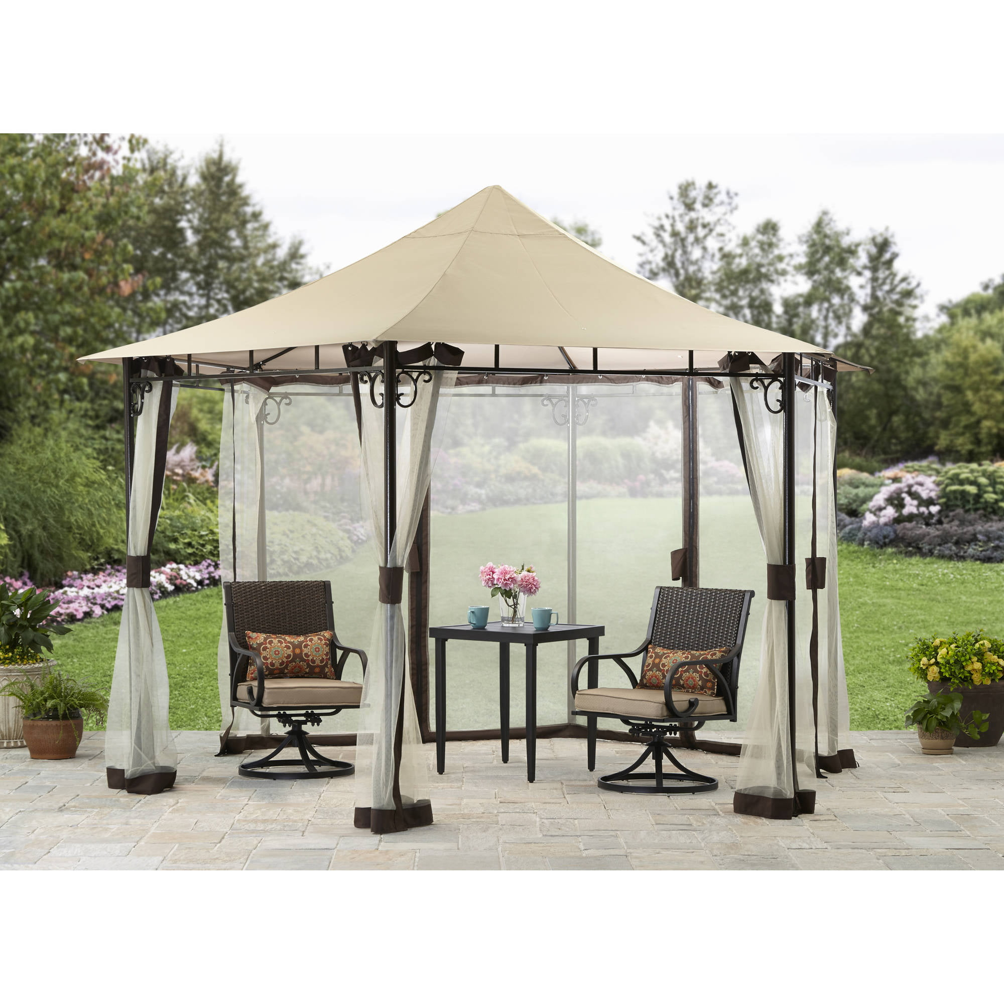 sc 1 st  Walmart & Better Homes and Gardens Ridge-Top Gazebo 13u0027 - Walmart.com