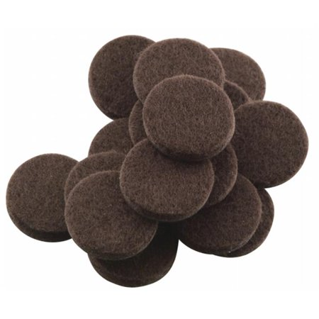 20 Count .75 in. Brown Soft Touch Self Stick Felt