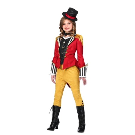 Ravishing Ringmaster Costume for Girls (Child Ringmaster Costume)