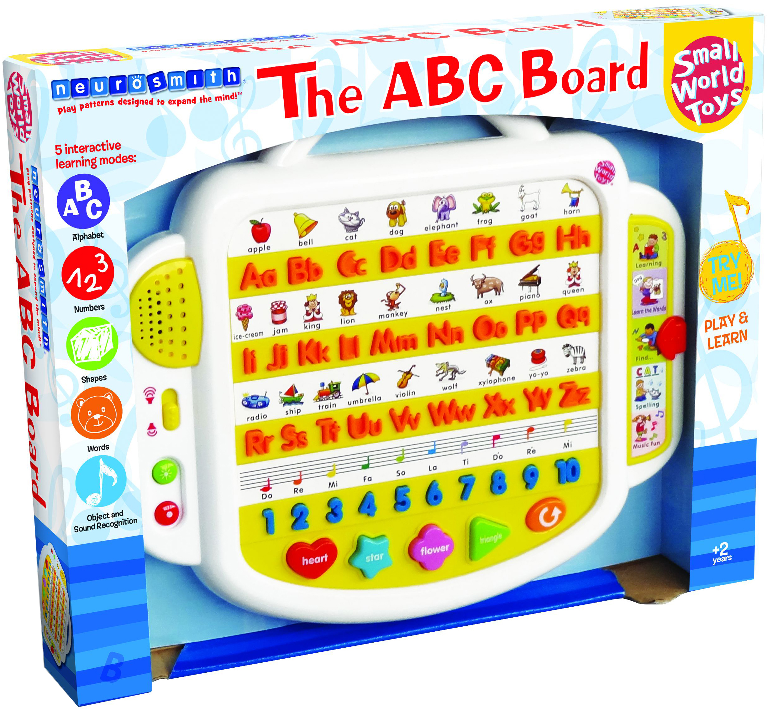Small World Toys Alphabet Keyboard-The ABC Board by Small World Toys