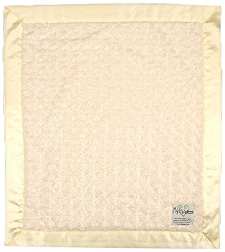 """My Blankee Luxe Snail Baby Blanket, 30"""" x 35"""", Yellow"""