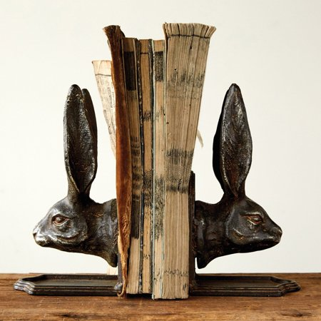 3R Studios Rabbit Head Bookends (Eagle Head Bookends)