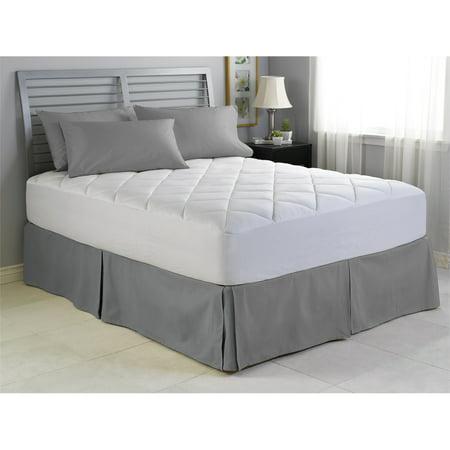 illuna ultra plush comfort mattress pad california king. Black Bedroom Furniture Sets. Home Design Ideas