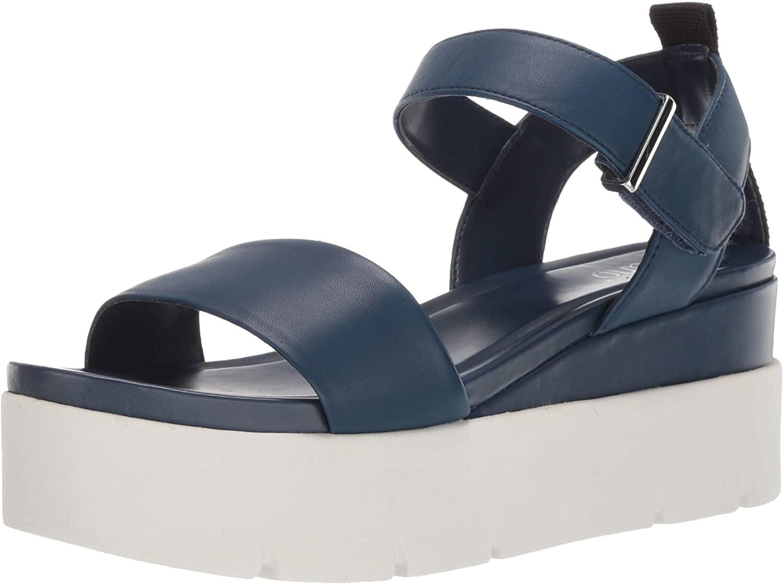 VANJIE Wedge Sandal, Lapis Blue