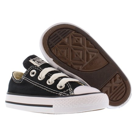 Converse 7J235: Chuck Taylor All Star Toddler OX Sneaker (Classic Black, 8 Toddler M)