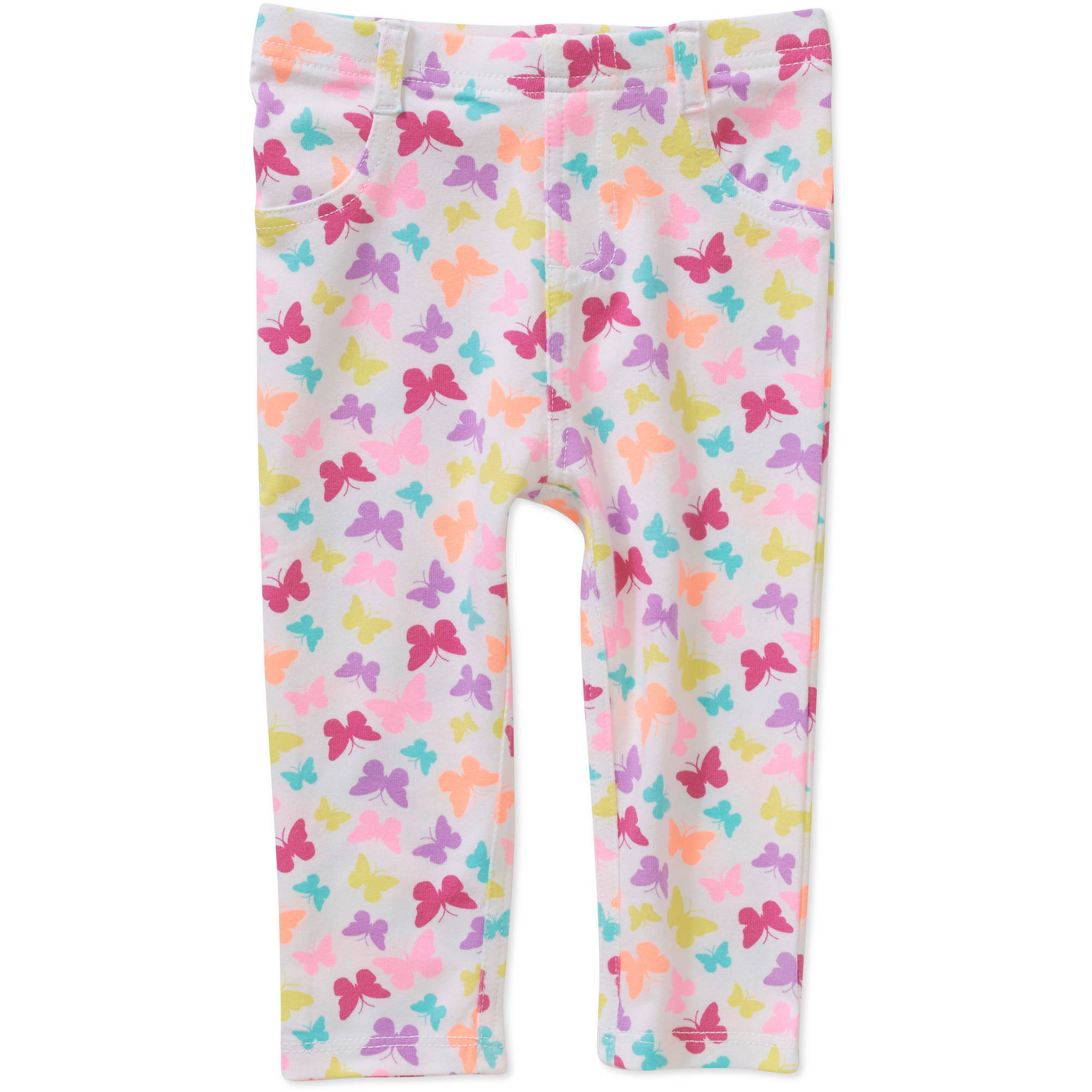 Garanimals Newborn Baby Girl Printed Knit Jeggings