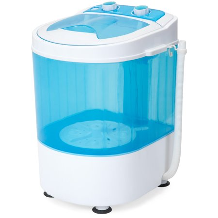 Best Choice Products Portable Mini Washing Machine Spin Cycle w/ Drainage Tube, 6.6lb Capacity - (Best Value Front Loader Washing Machine)