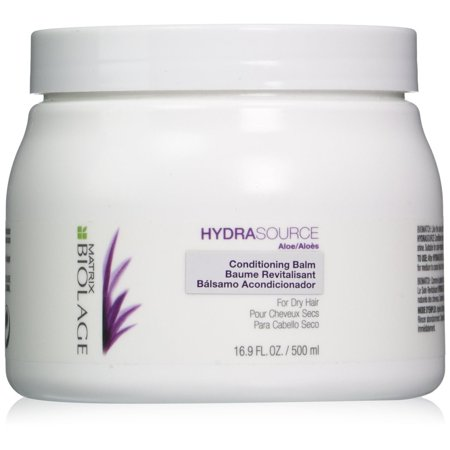 Biolage Hydrasource Conditioning Balm, For Dry Hair By Matrix - 16.9 Oz (Hair Products For Dry Color Treated Hair)
