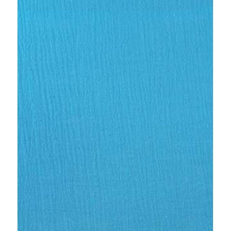 Turquoise Gauze Fabric - by the Yard By Online Fabric Store ...