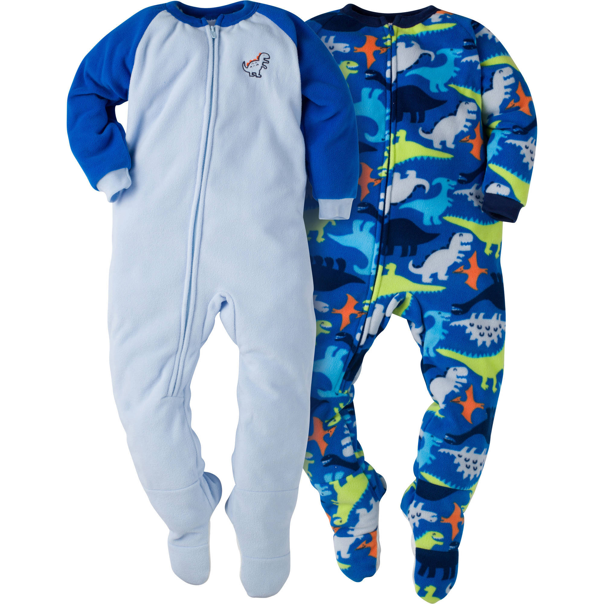 Gerber Toddler Boy Blanket Sleeper, 2-pack