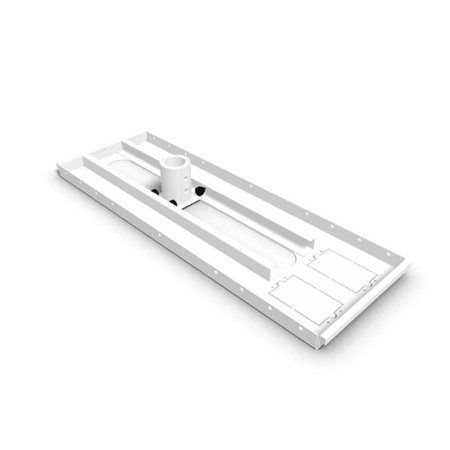 (ProMounts Ceiling Tile Plate for Projector Mount)