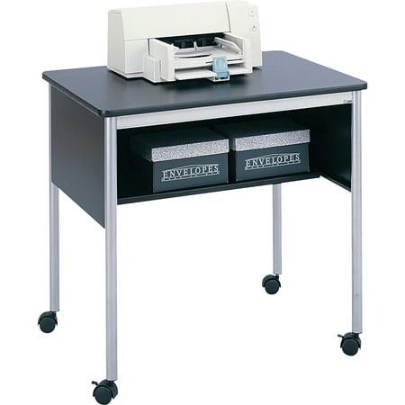 Safco, SAF1874BL, Multipurpose Mobile Stand, 1 Each, Silver (Safco Mobile Computer Stand)
