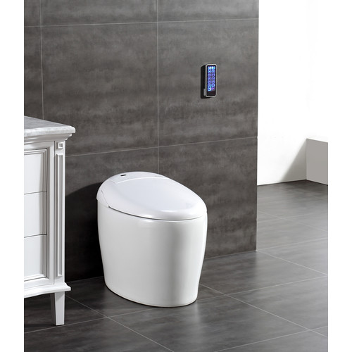 Ove Decors Tuva Smart Toilet 20'' Floor Mount Bidet