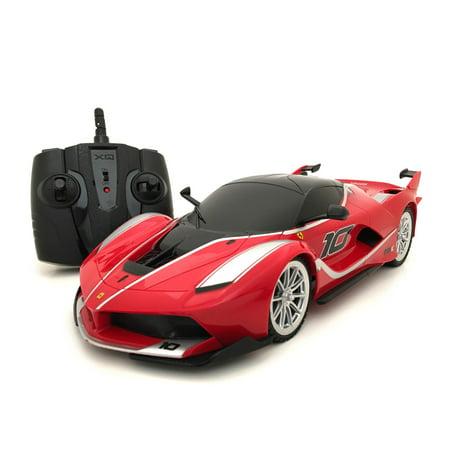 XQ 2.4 GHz Remote Control 1:18-scale Ferrari FXX-K Multi-channel RC SuperCar