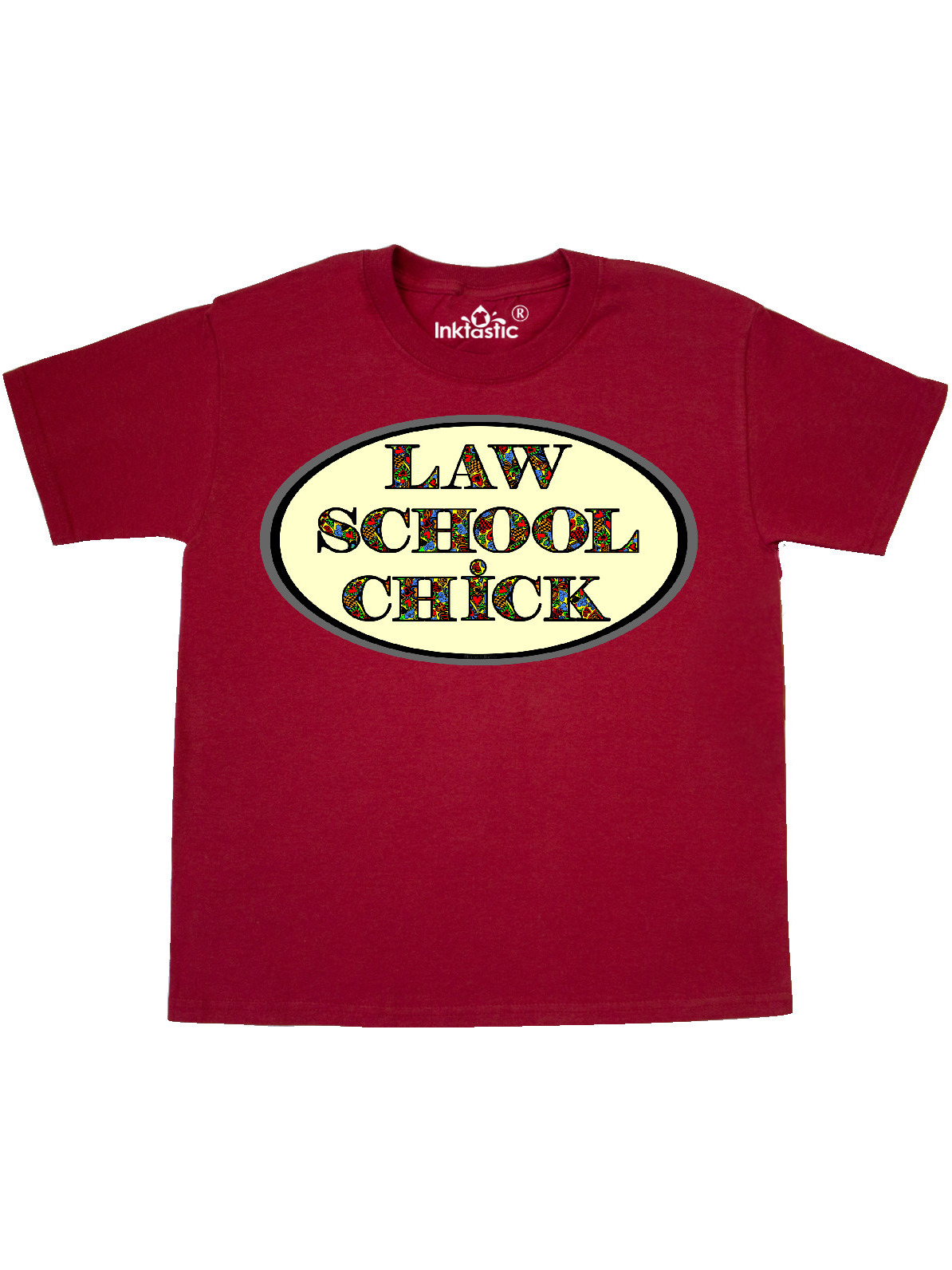 inktastic Law School Chick Heart Text Toddler T-Shirt
