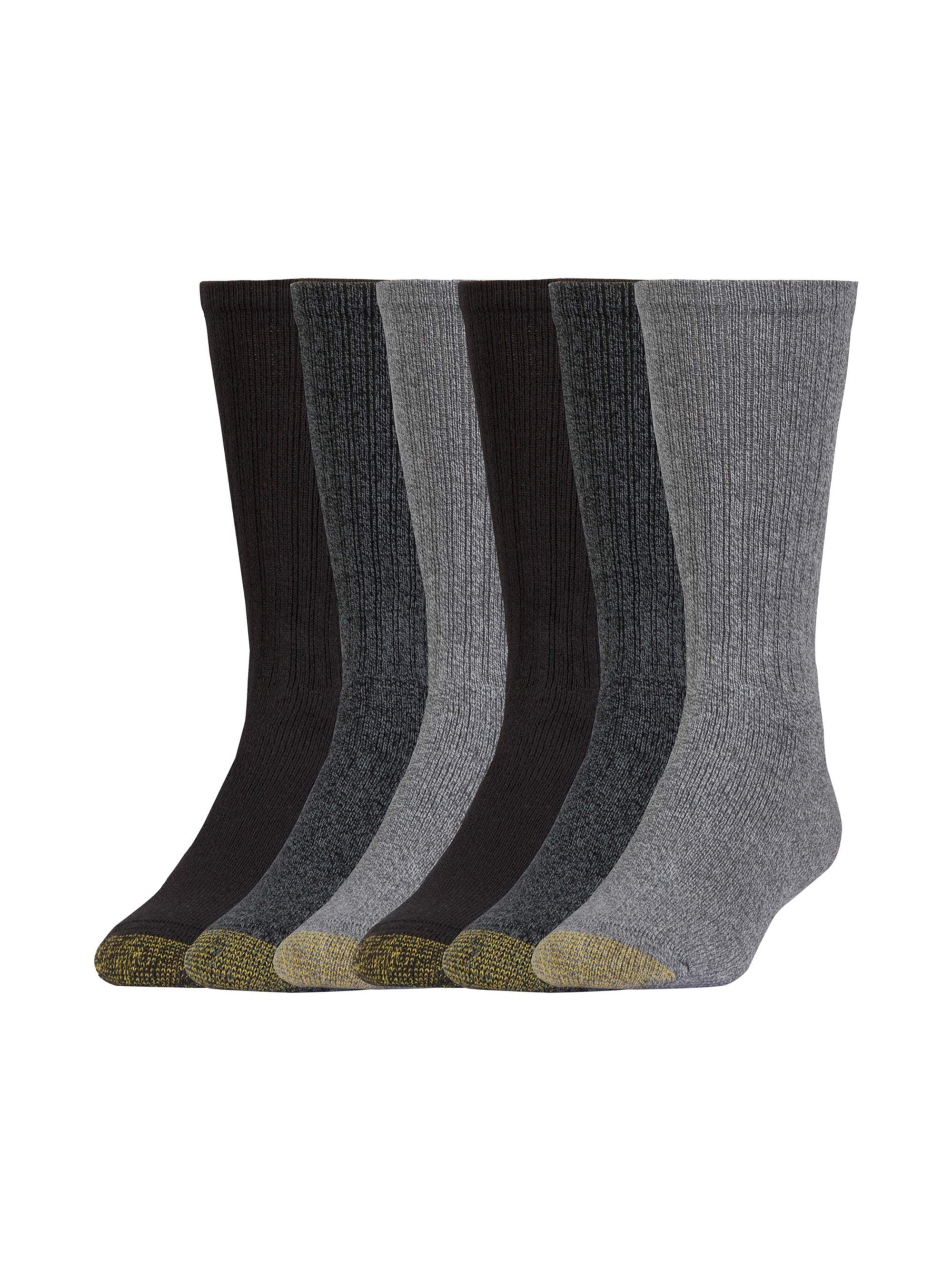 Gold Toe Girls Flat Knit No Show Socks 6 Pairs