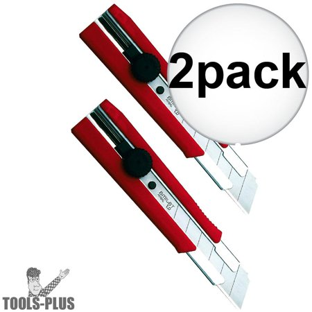 Tajima LC-650 Rock Hard Dial Lock Utility Knife 2-Pack