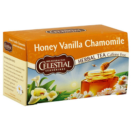 Celestial Seasonings Honey Vanilla Chamomile Tea, 20ct (Pack of 6)