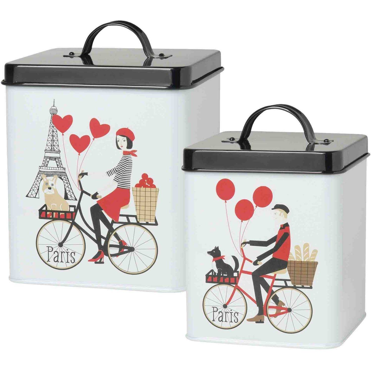Now Designs Tour de Paris Storage Tins