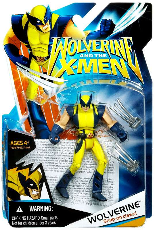 Wolverine and the X-Men Wolverine Action Figure by Hasbro