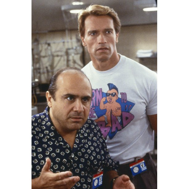 Danny Devito And Arnold Schwarzenegger In Twins Side By Side 24x36 Poster Walmart Com Walmart Com