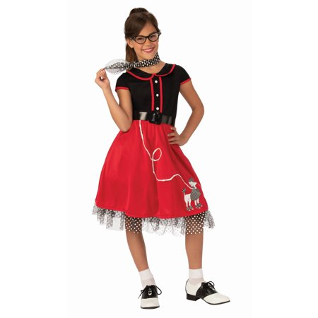 Girls 50s Sweetheart Costume for $<!---->
