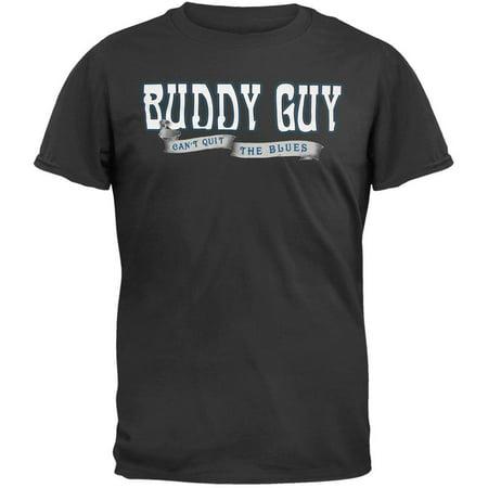 2009 Tour Shirt - Buddy Guy - Can't Quit 2009 Tour T-Shirt