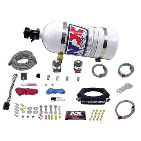 Nitrous Express 20934-00 Ls 90mm Plate System (50-400hp) Without Bottle
