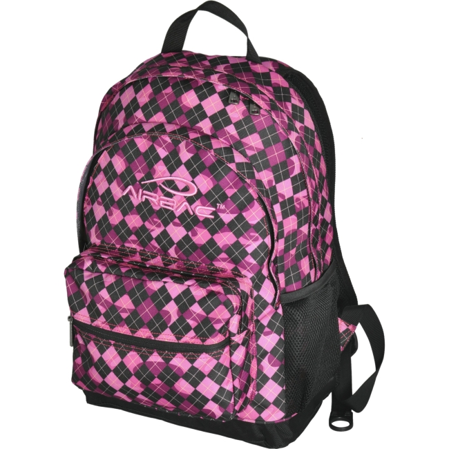 "Image of Airbac Bump 17"" Laptop Backpack, Violet"