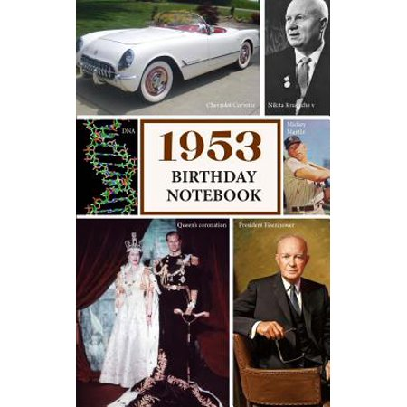 1953 Birthday Notebook : A Great Alternative to a (Compare Notebook Video Cards)