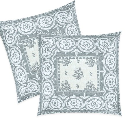 Phenomenal Driftaway Rina Floral Vintage Inspired Decoration Cotton Euro Pillow Shams Set Of 2 Quilted Throw Pillow Sham Cushion Cover For Bed Sofa Or Bench Unemploymentrelief Wooden Chair Designs For Living Room Unemploymentrelieforg
