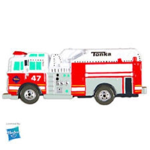 Hasbro Licensed TONKA FIRE TRUCK Personalized Christmas Tree Ornament