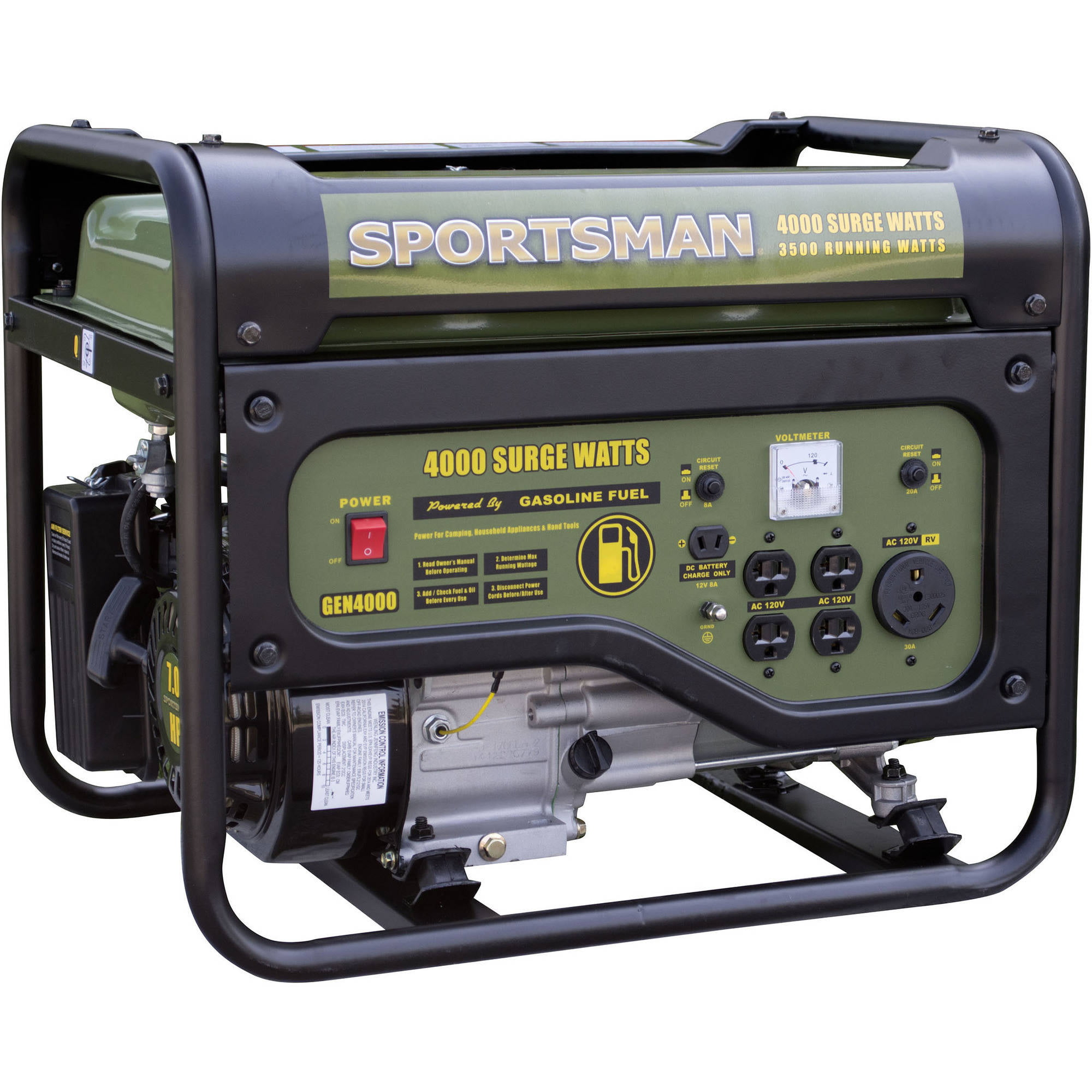 Sportsman Gasoline 4000w Portable Generator Onan 6 5 Nh Remote Wiring Diagram
