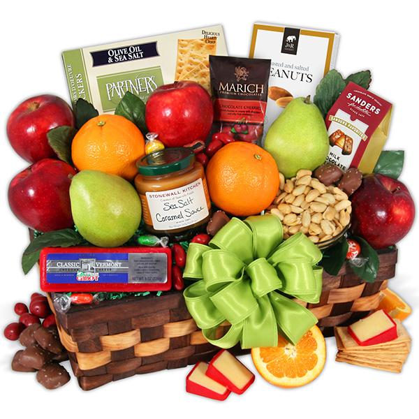 Sympathy Fruit Basket