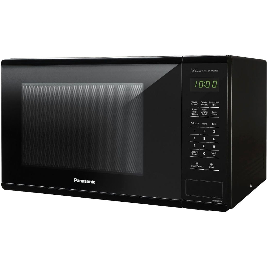 Panasonic 1.3 cu ft Microwave Oven, Black