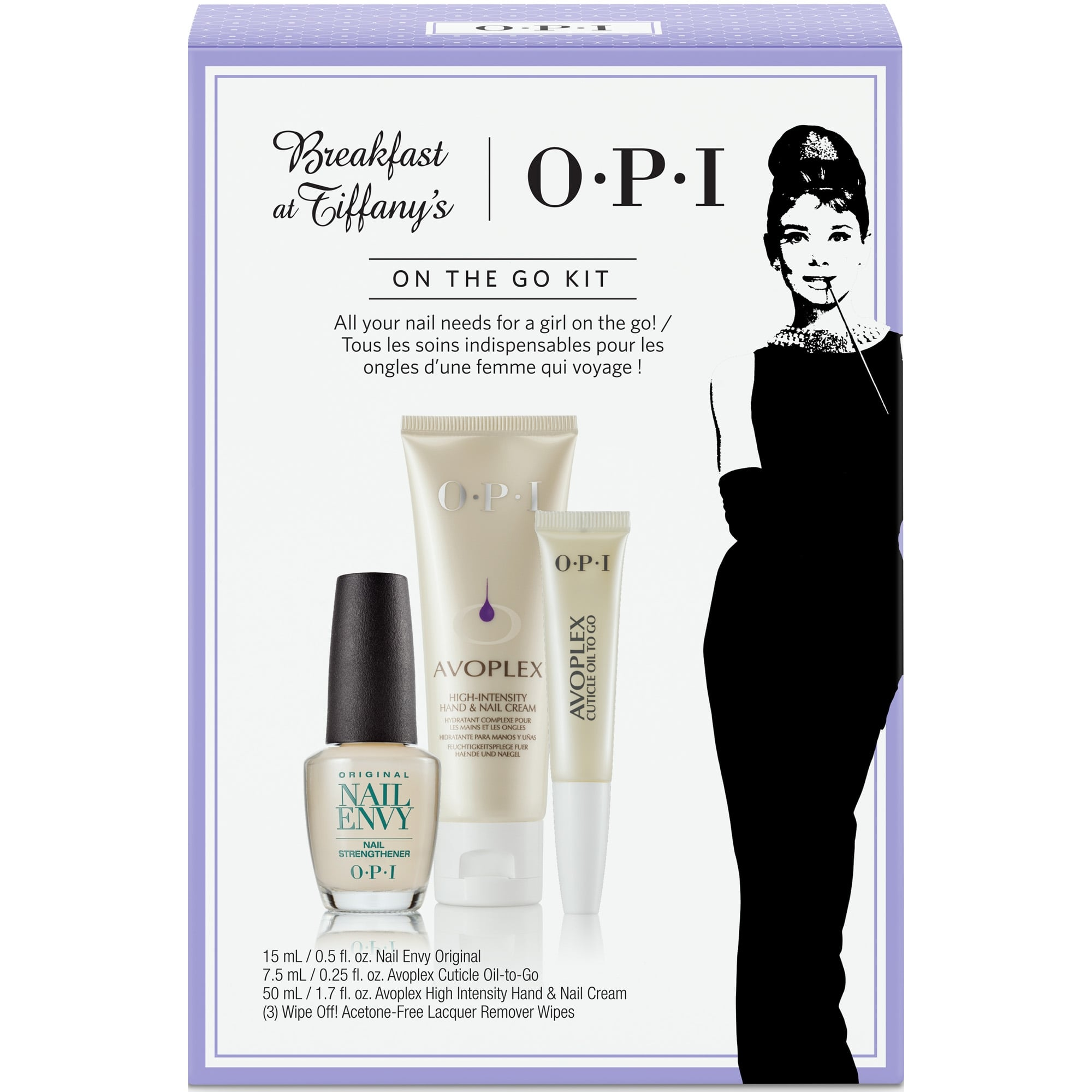 OPI Breakfast At Tiffany's - ON THE GO KIT 3pc